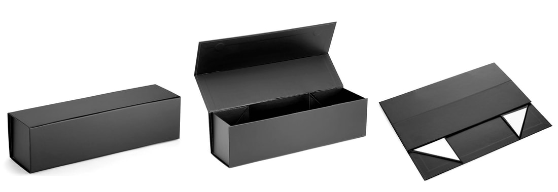 foldable rigid wine boxes