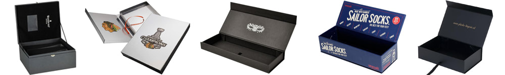 custom rigid boxes with hinged lid