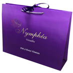 Luxury Paper Bags With Ribbon Closure